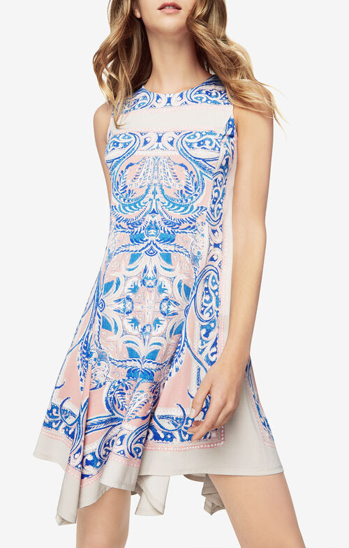 Mercey Paisley-Print Dress