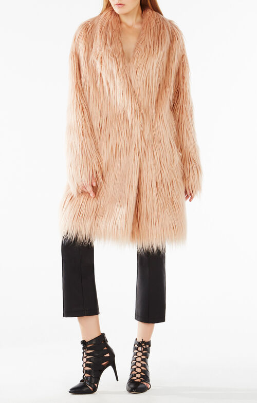 Waris Faux-Shearling Coat
