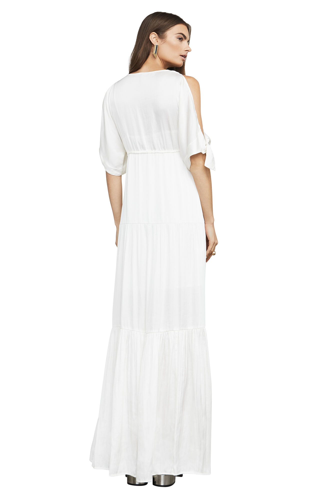 Alysa Cold-Shoulder Maxi Dress
