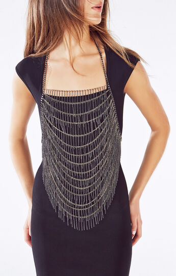 Chain Fringe Body Chain