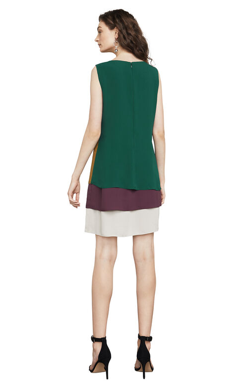 Haley Color-Blocked Tank Dress