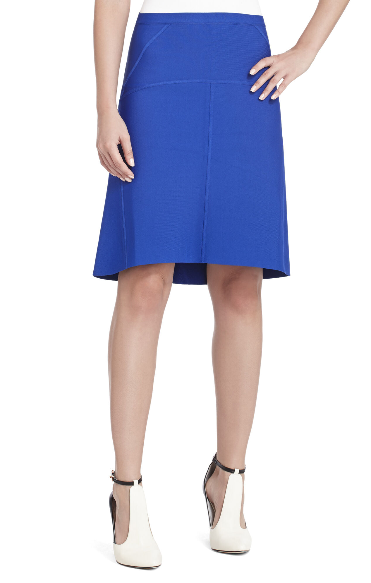 Manon Seamed Panel Skirt