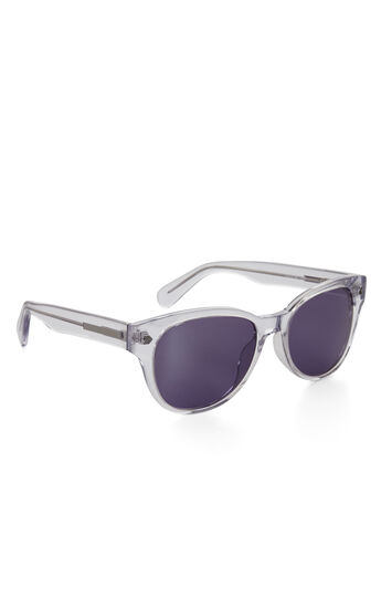Mirrored-Lens Wayfarer Sunglasses