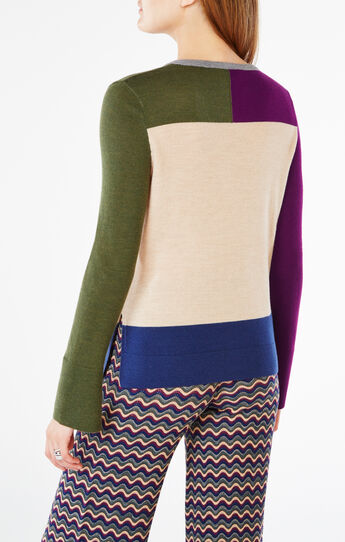 Patty Color-Blocked Sweater