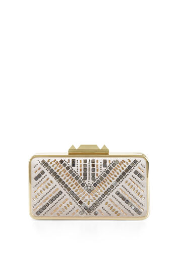 Isidora Jewel Embellished Clutch