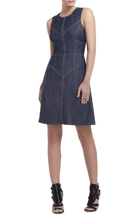 Katie Sleeveless Paneled Dress