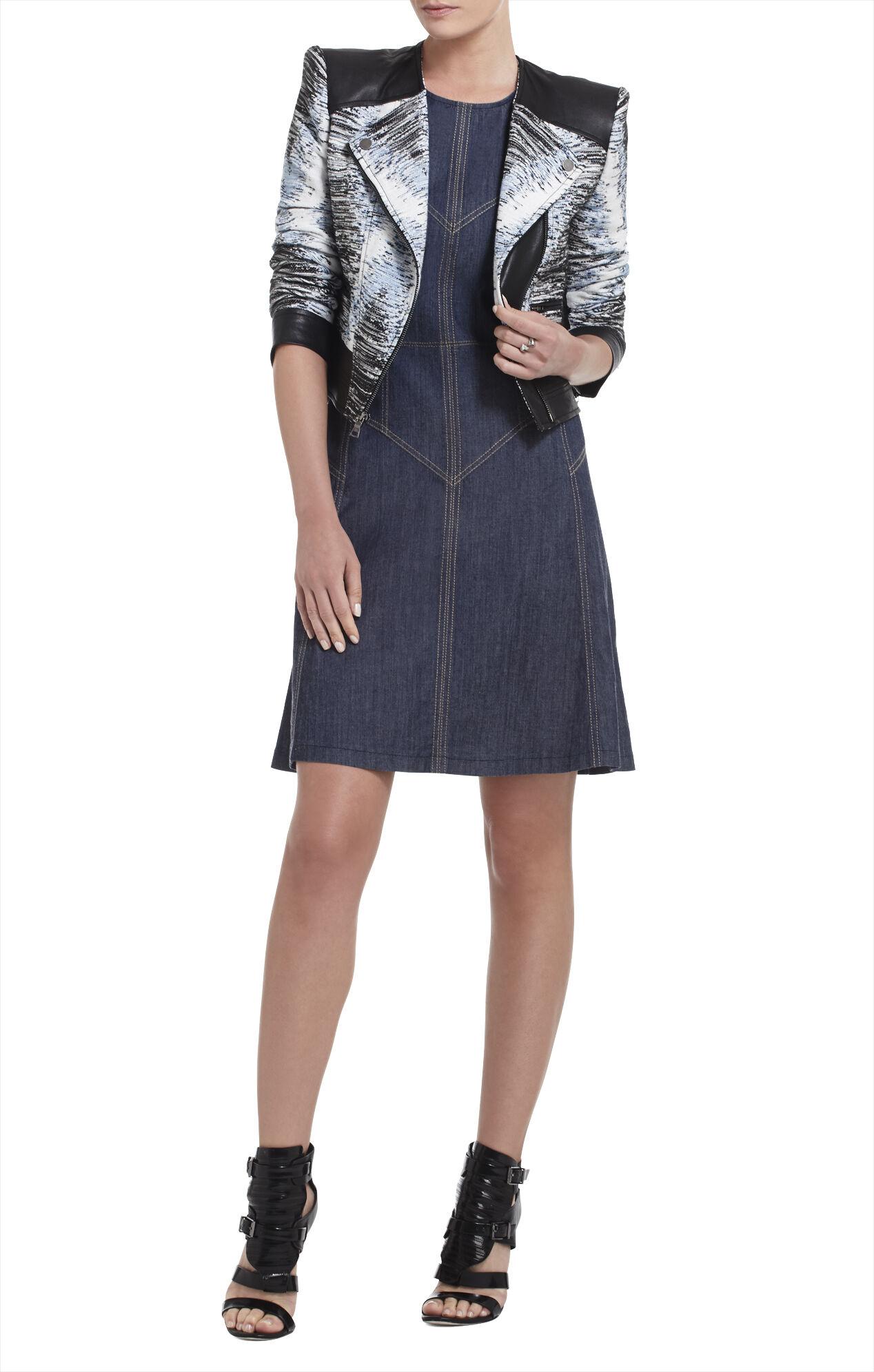 Katie Sleeveless Paneled Dress