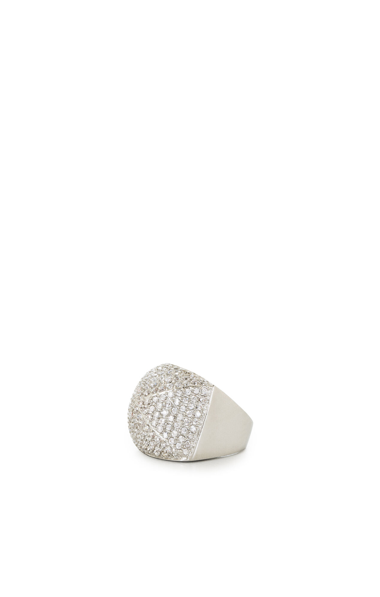 Pave Pyramid Ring