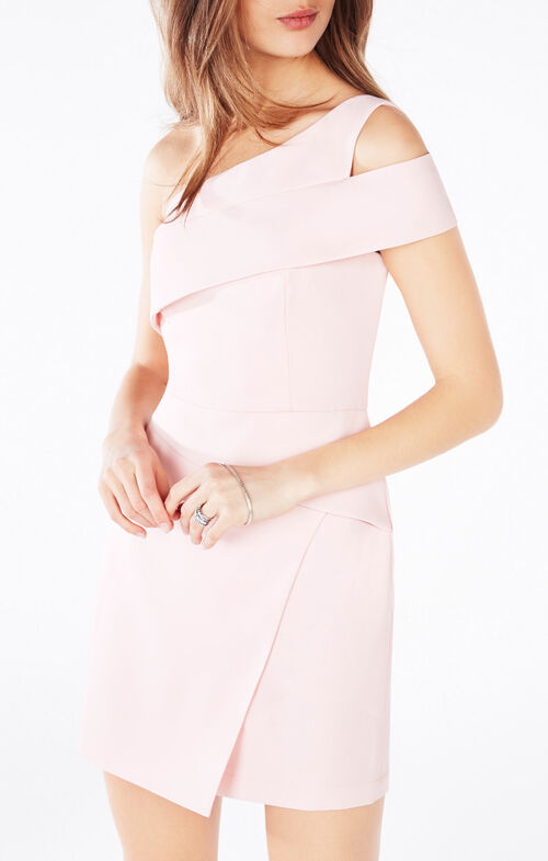 Benett Cutout One-Shoulder Dress