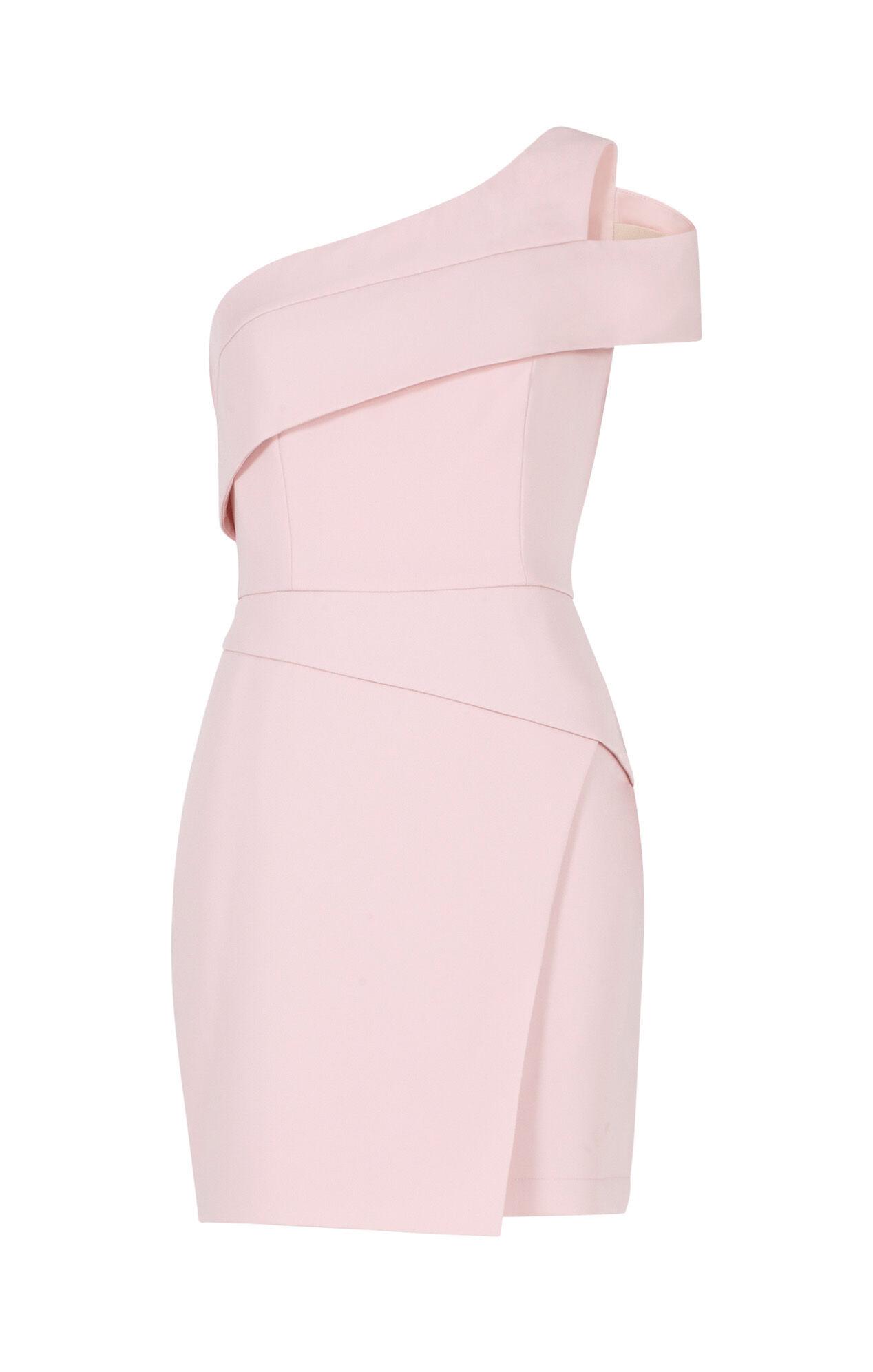 Benett Cutout One-Shoulder Dress