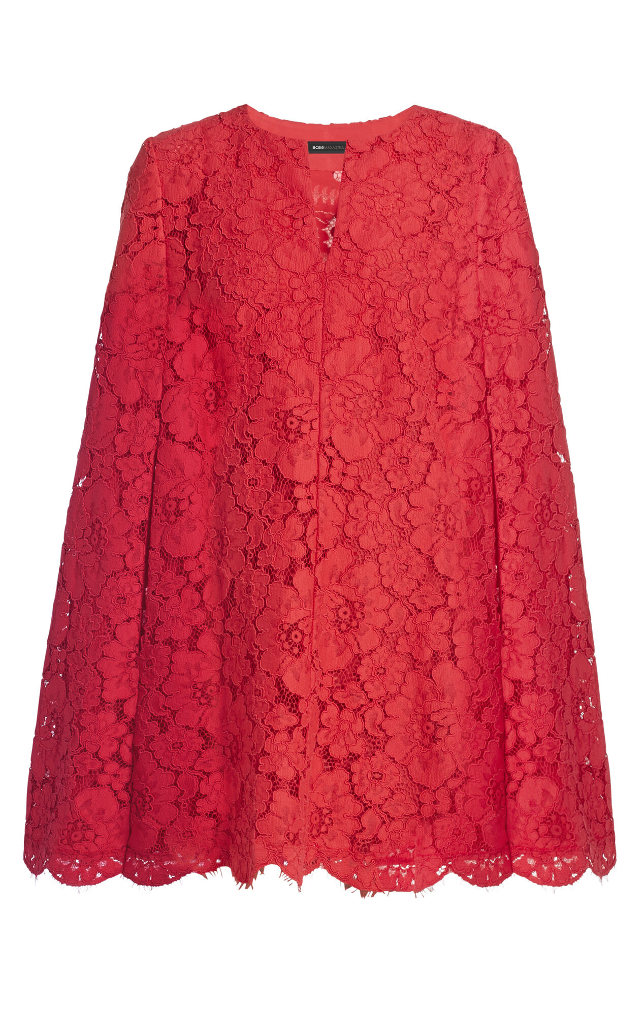 Brynna Lace Cape Dress