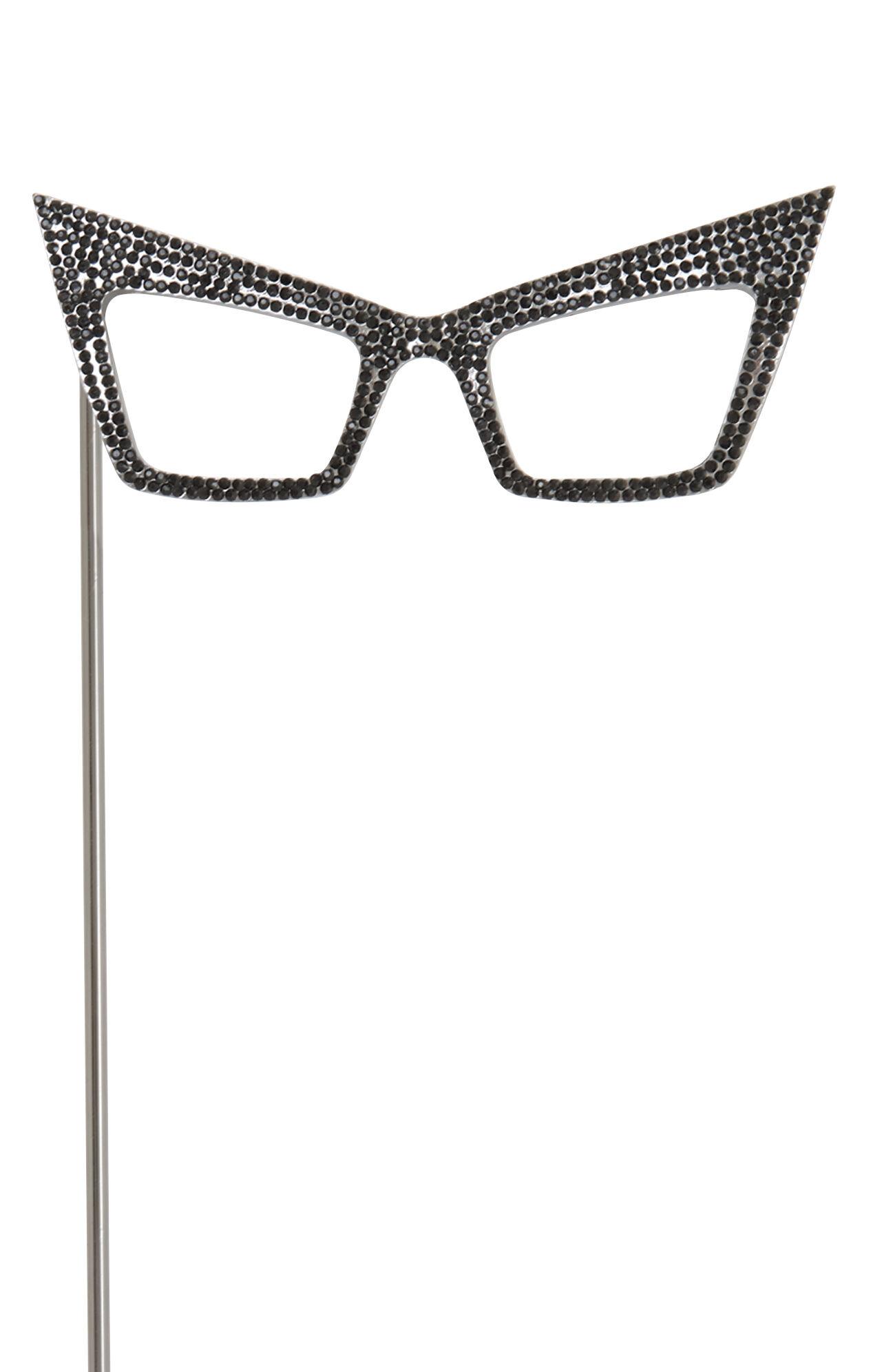 Rhinestone Retro Glasses