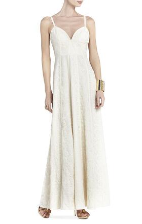 Lourie Long Lace Dress