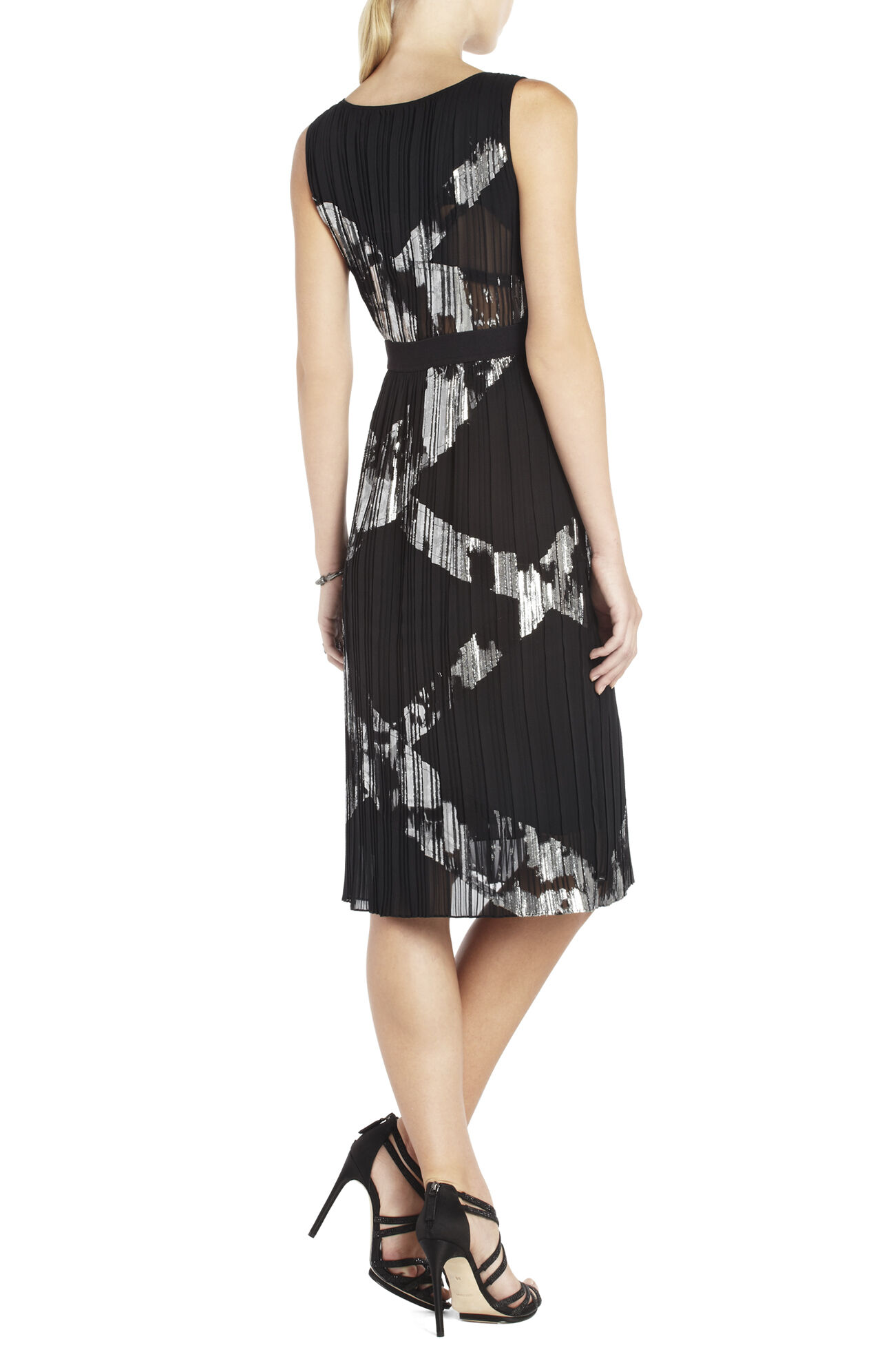 Zariah Pleated Cocktail Dress