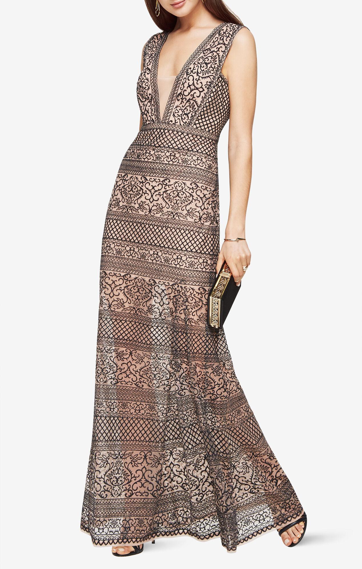 evening dress gown