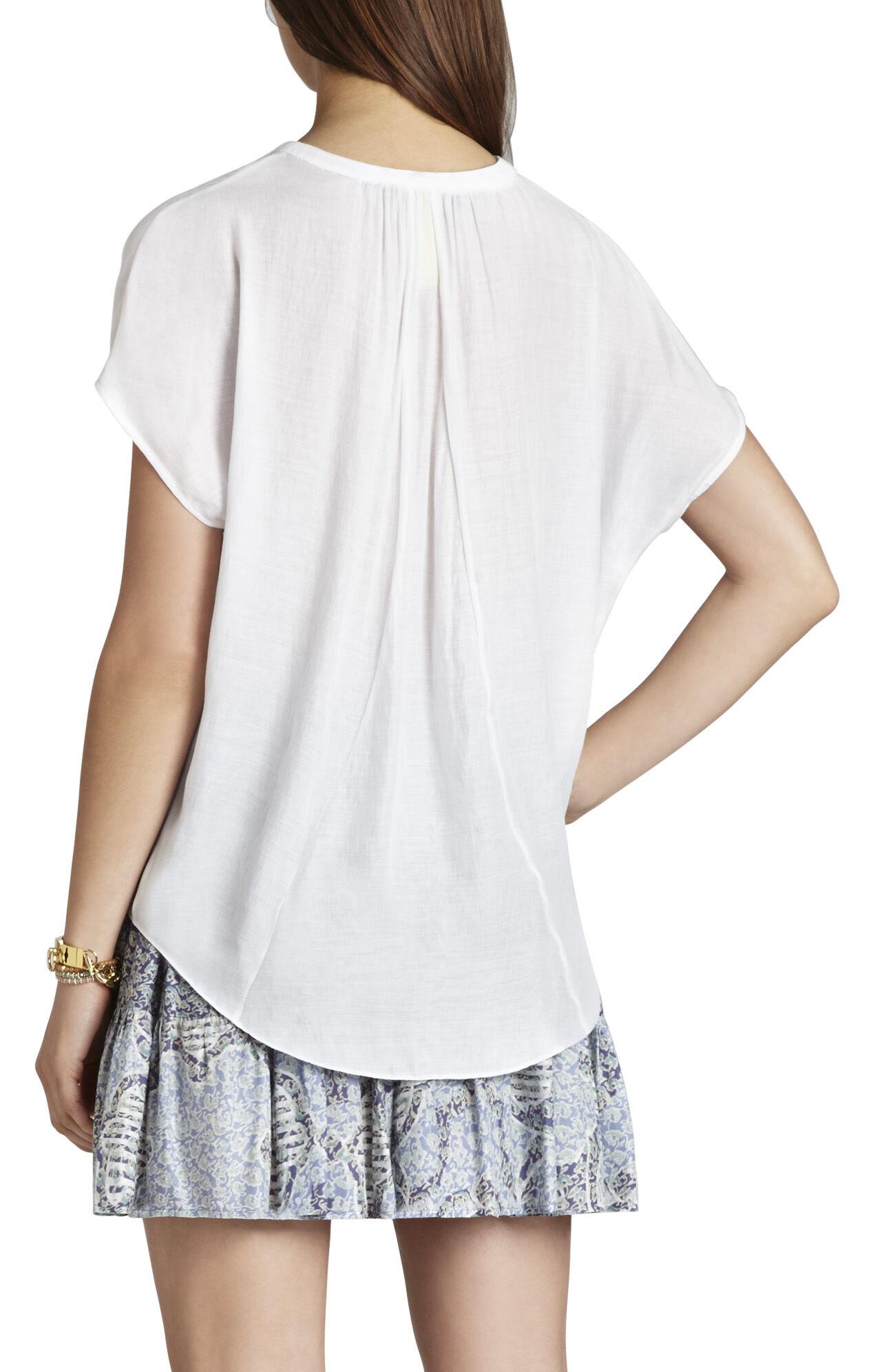 Ayanna Oversized Scarf Shirt