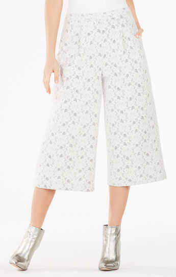 Darryl Floral Lace Culottes