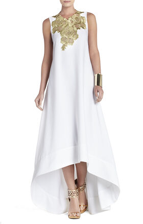 Louisa High-Low Sleeveless Dress