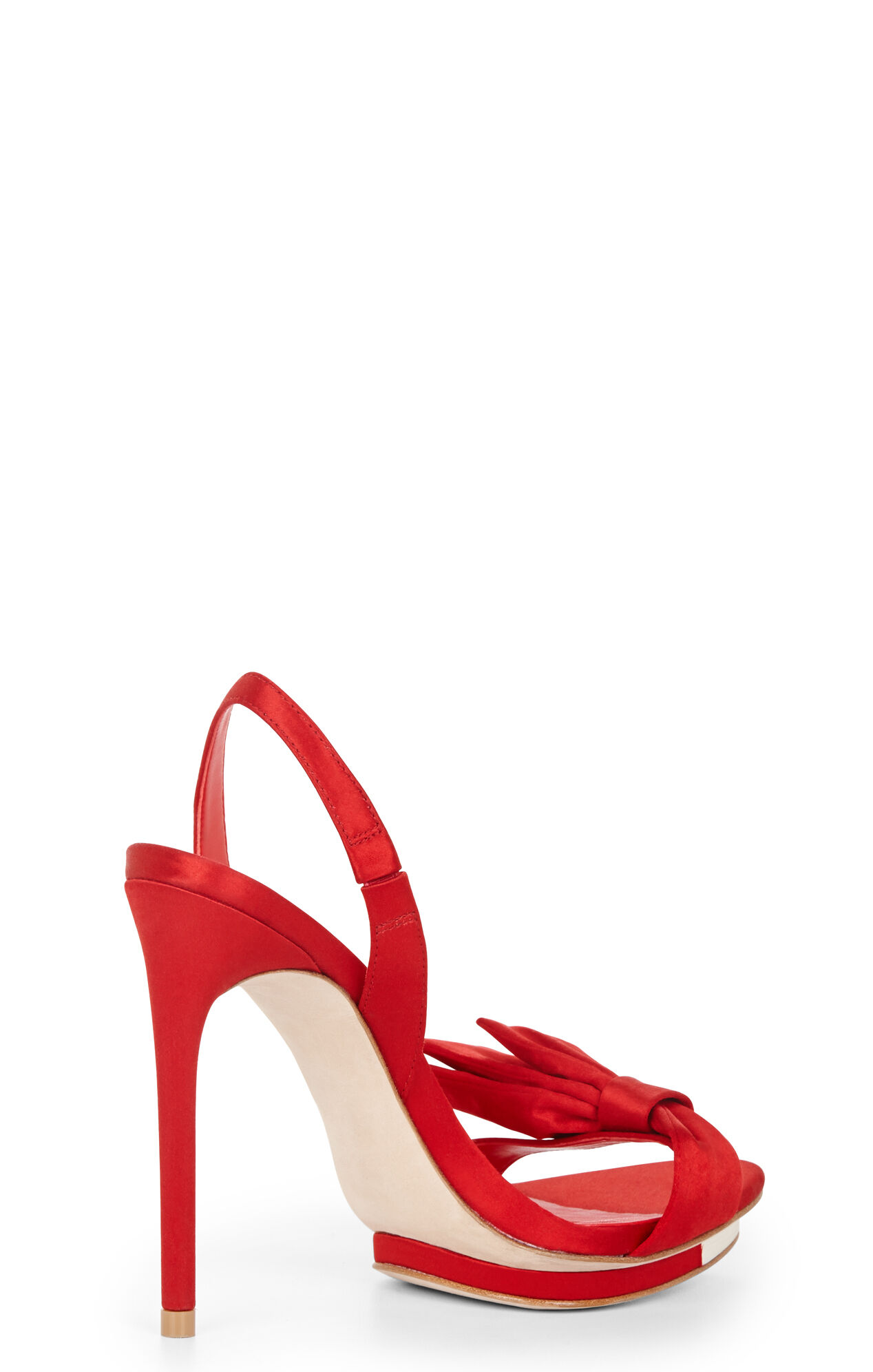 Lavi Bow Sling-Back High-Heel Shoe
