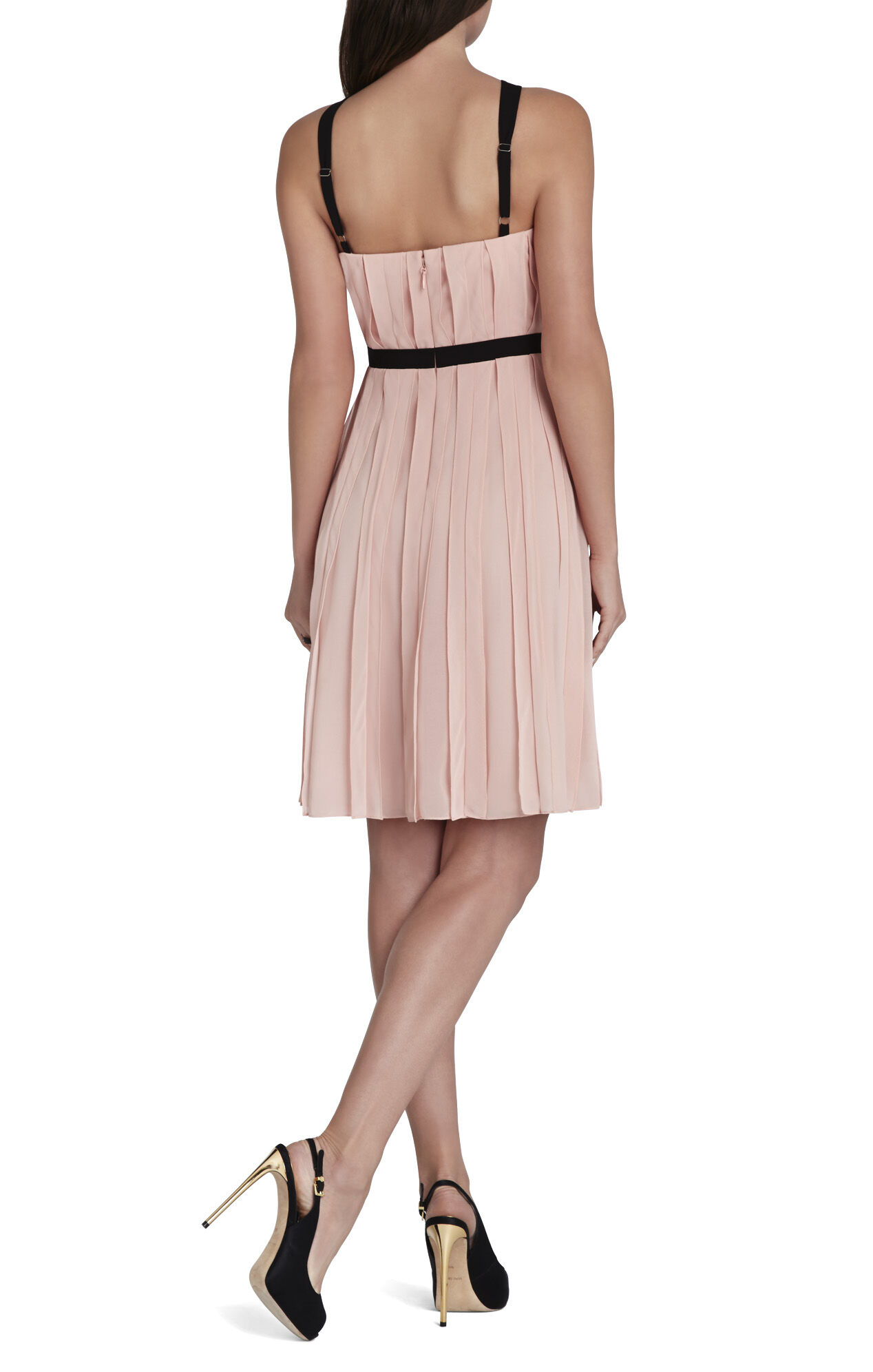Bianca Sleeveless Ruffle Dress