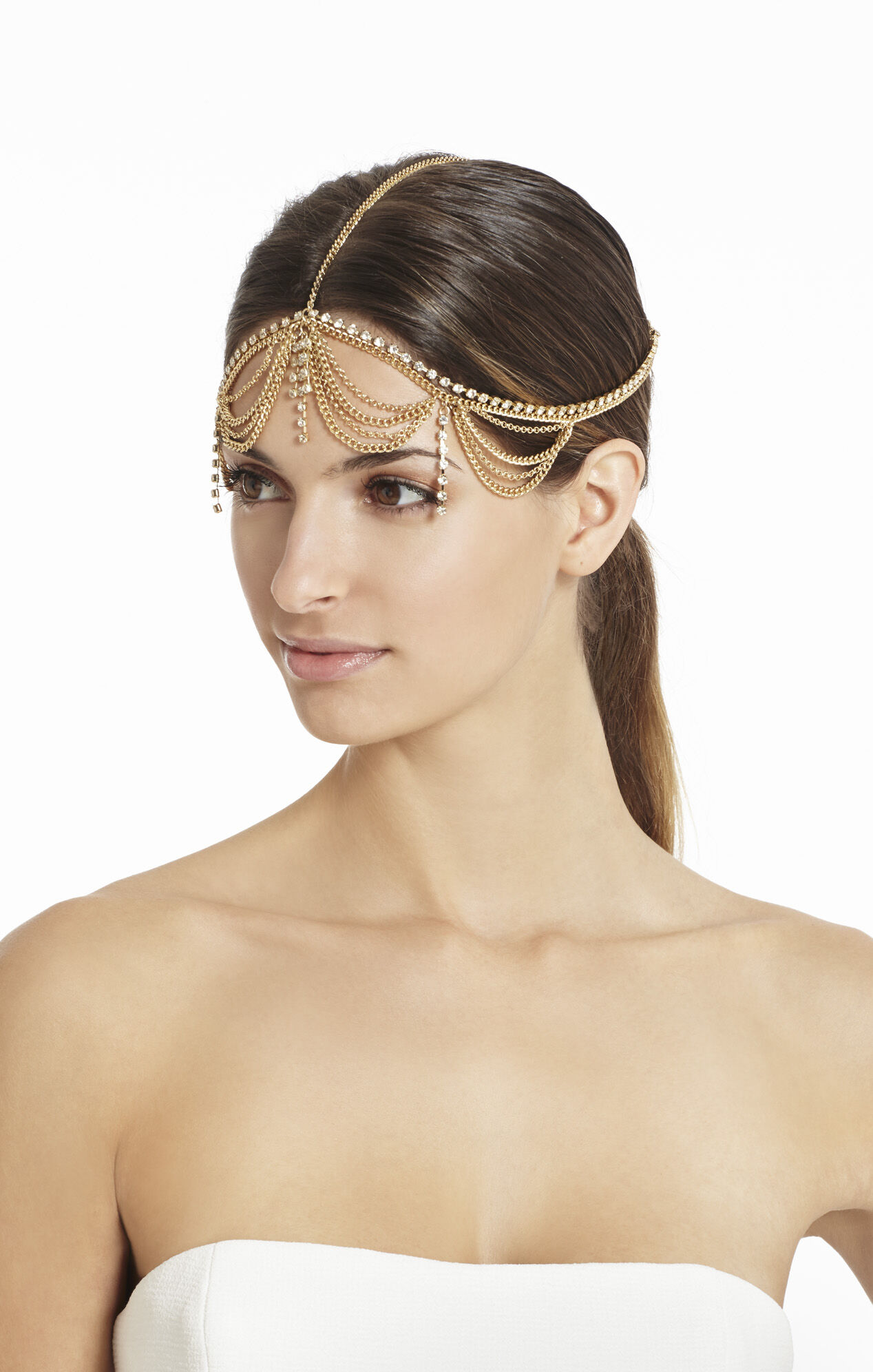 Drape-Chain Headband