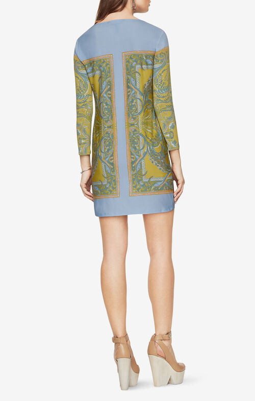 Noely Paisley-Print Dress