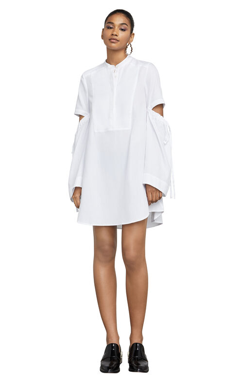 Miley Long-Sleeve Cutout Dress