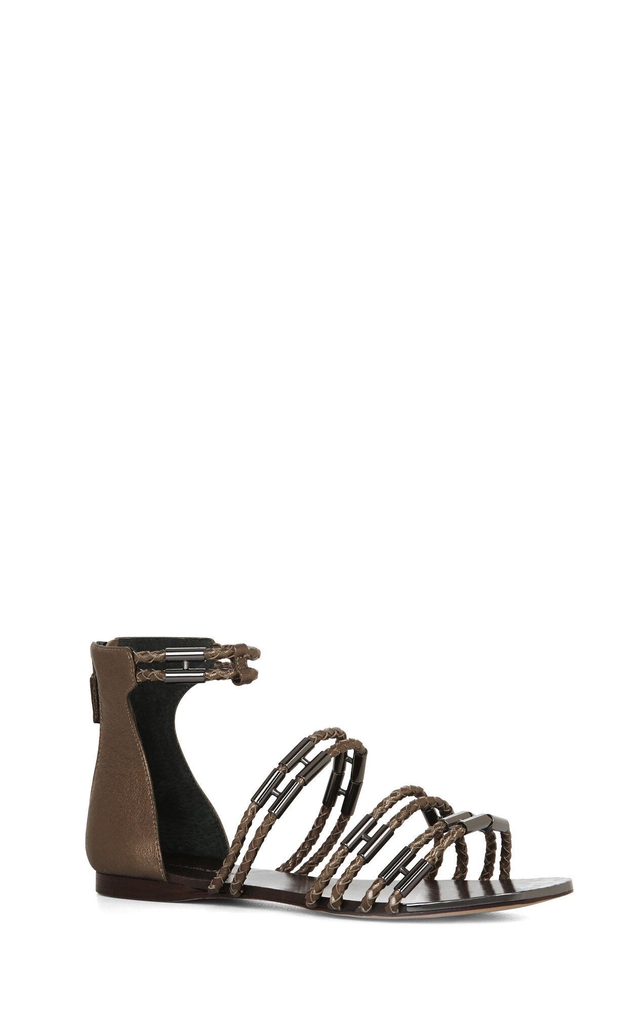 Royale Metallic-Trim Sandal