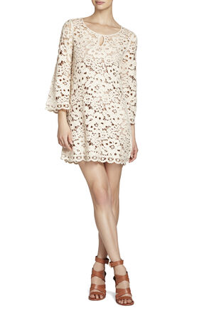 Tianya Crochet Tunic Dress