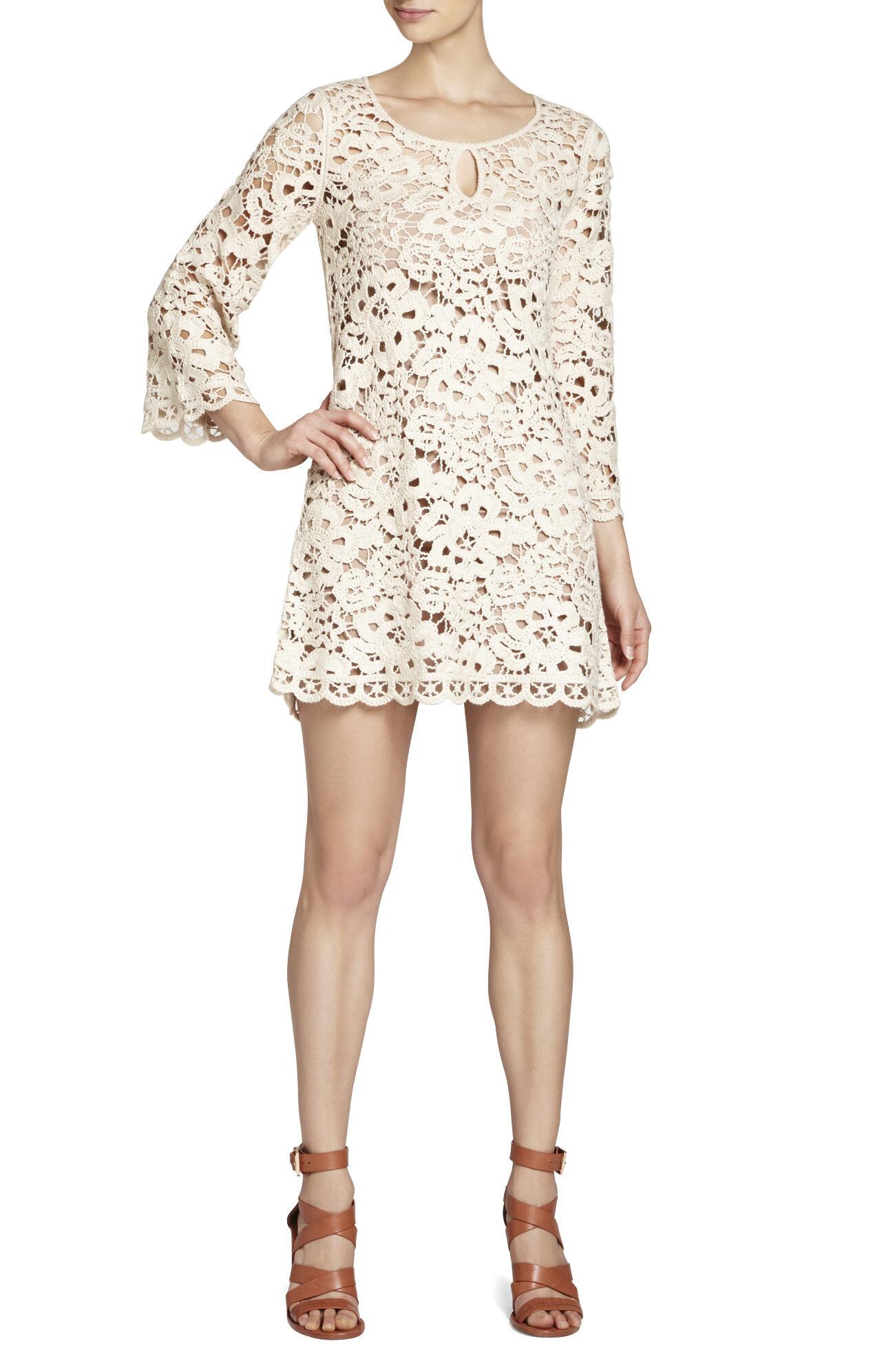 Tianya Crochet Tunic Dress