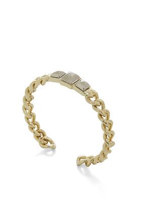 Pyramid Chain Cuff