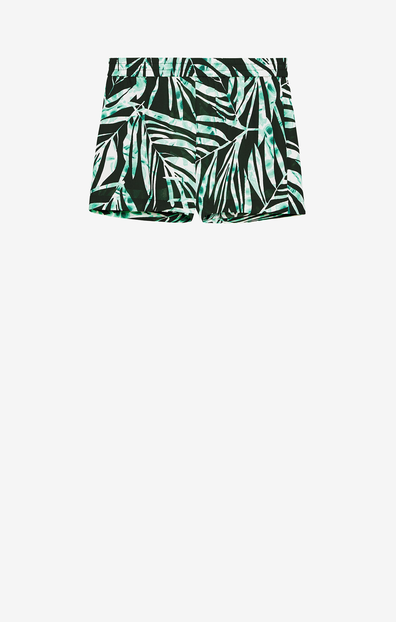 Cullen Palms-Print Short