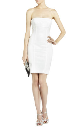 Angeline Sequined Panel Dress