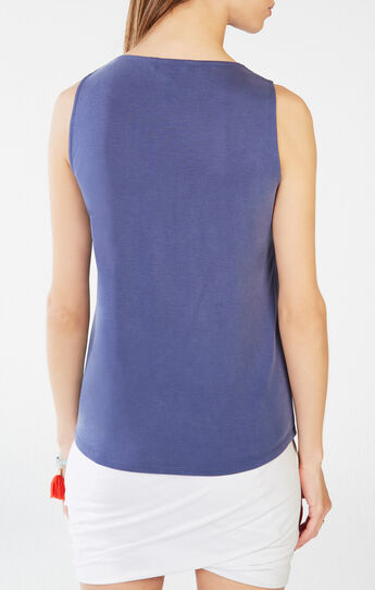 Reza Crossover Tank Top