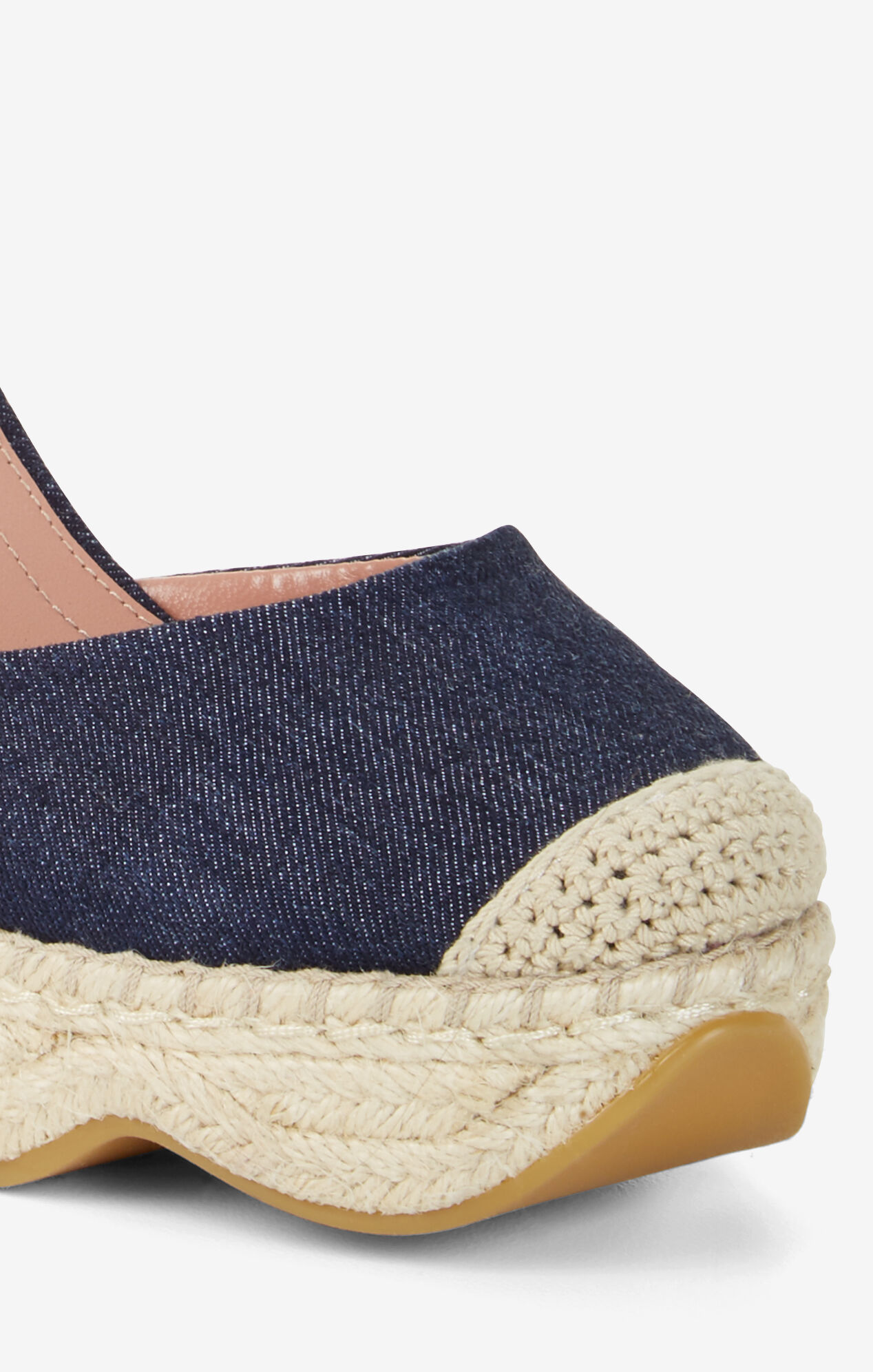 Abell Denim Wedge Espadrilles