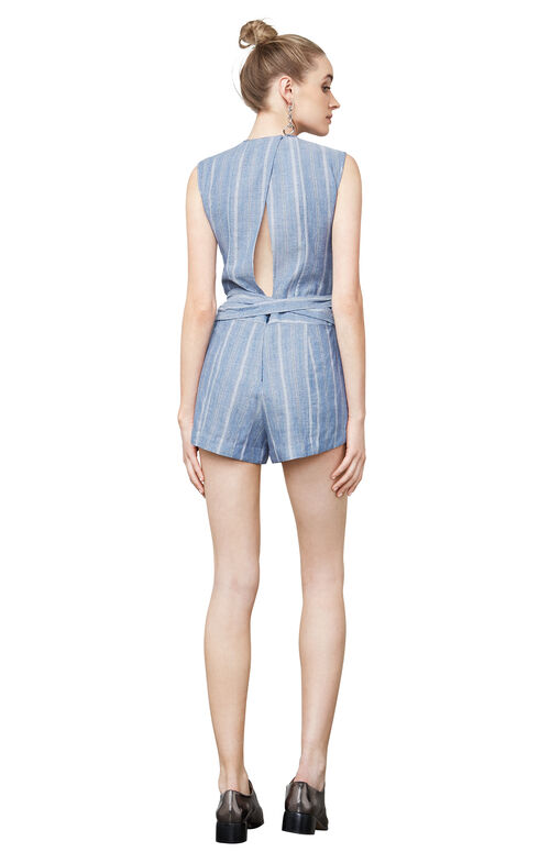 Lexxi Striped Romper