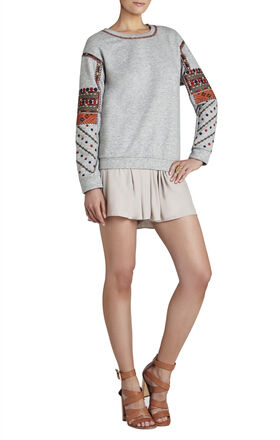 Cori Embroidered Sweatshirt
