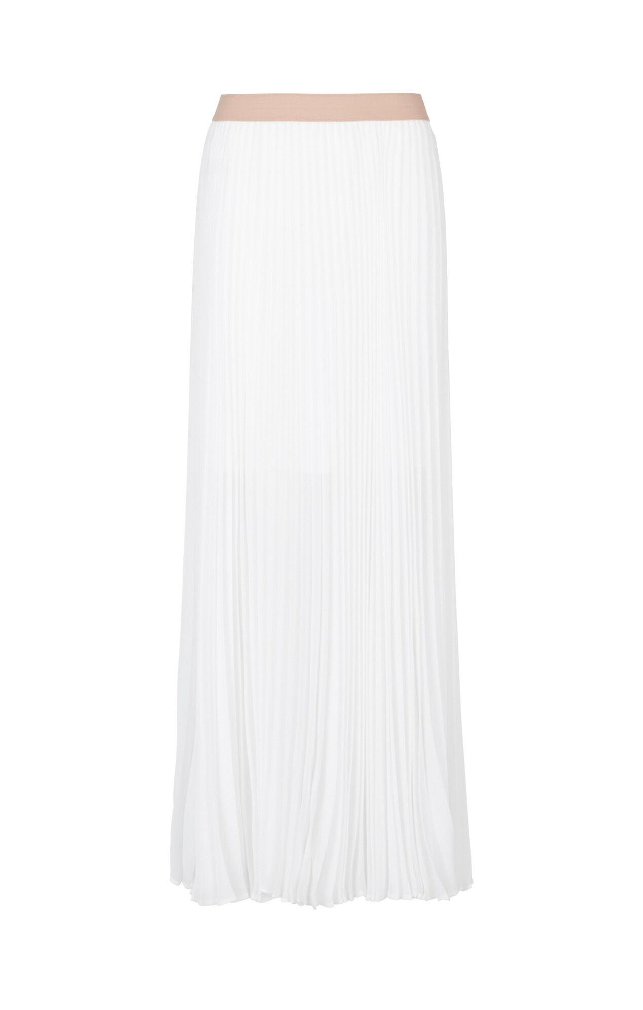 Esten Sunburst Pleated Maxi Skirt