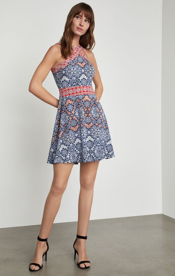 Nadia Blossoms Print Dress