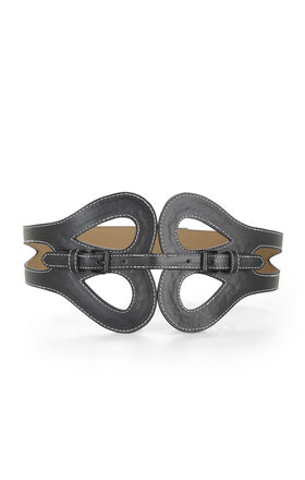 Butterfly Buckle-Front Belt