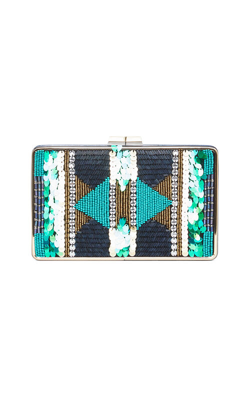 Sonia Beaded Sequined Clutch