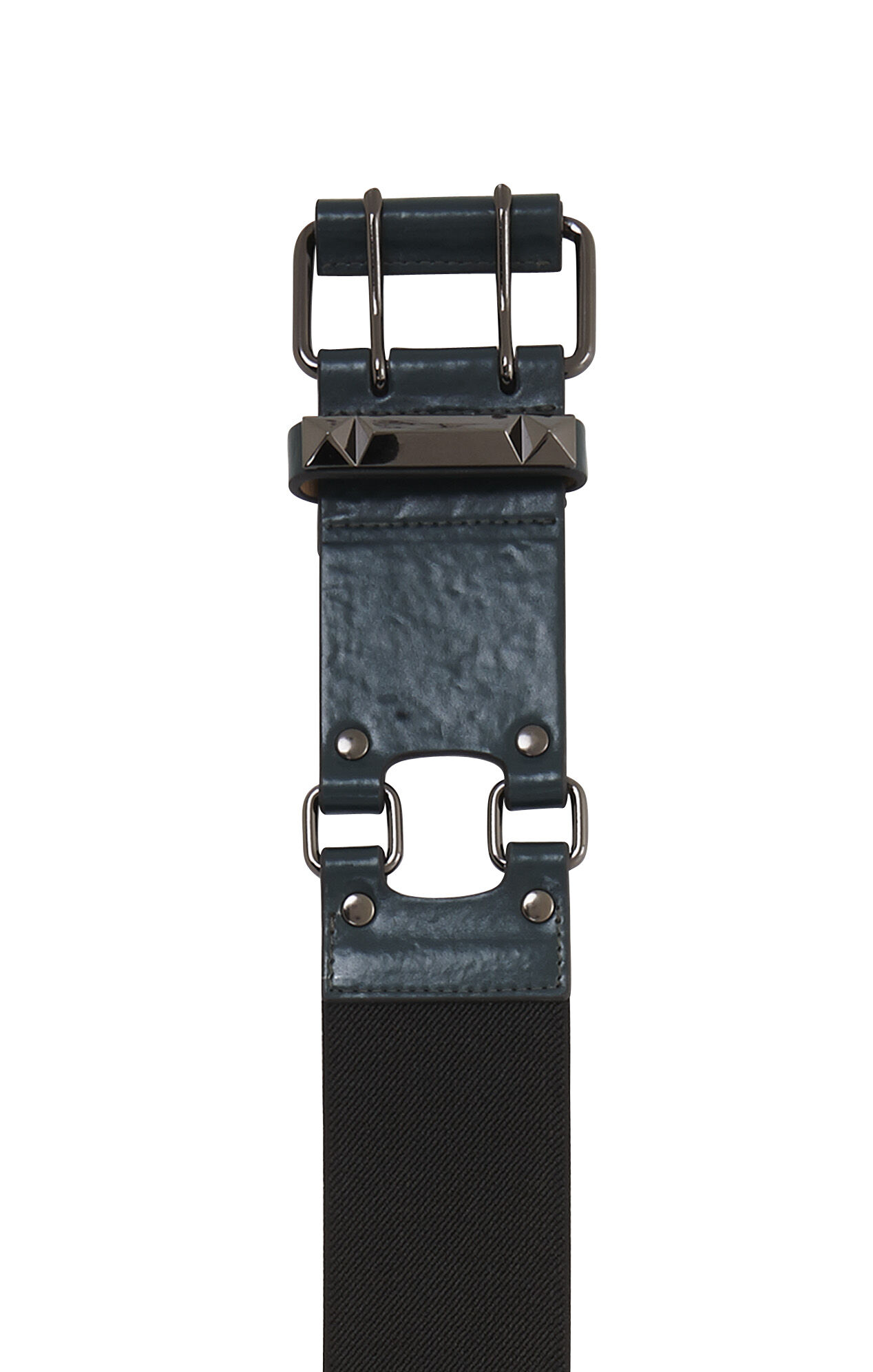 Wide Stud Bar Waist Belt