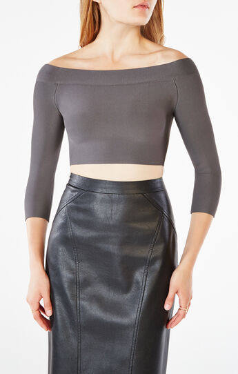 Anja Off-The-Shoulder Crop Top