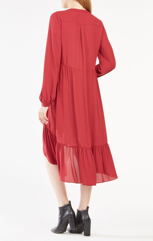 Natalii Midi Peasant Dress