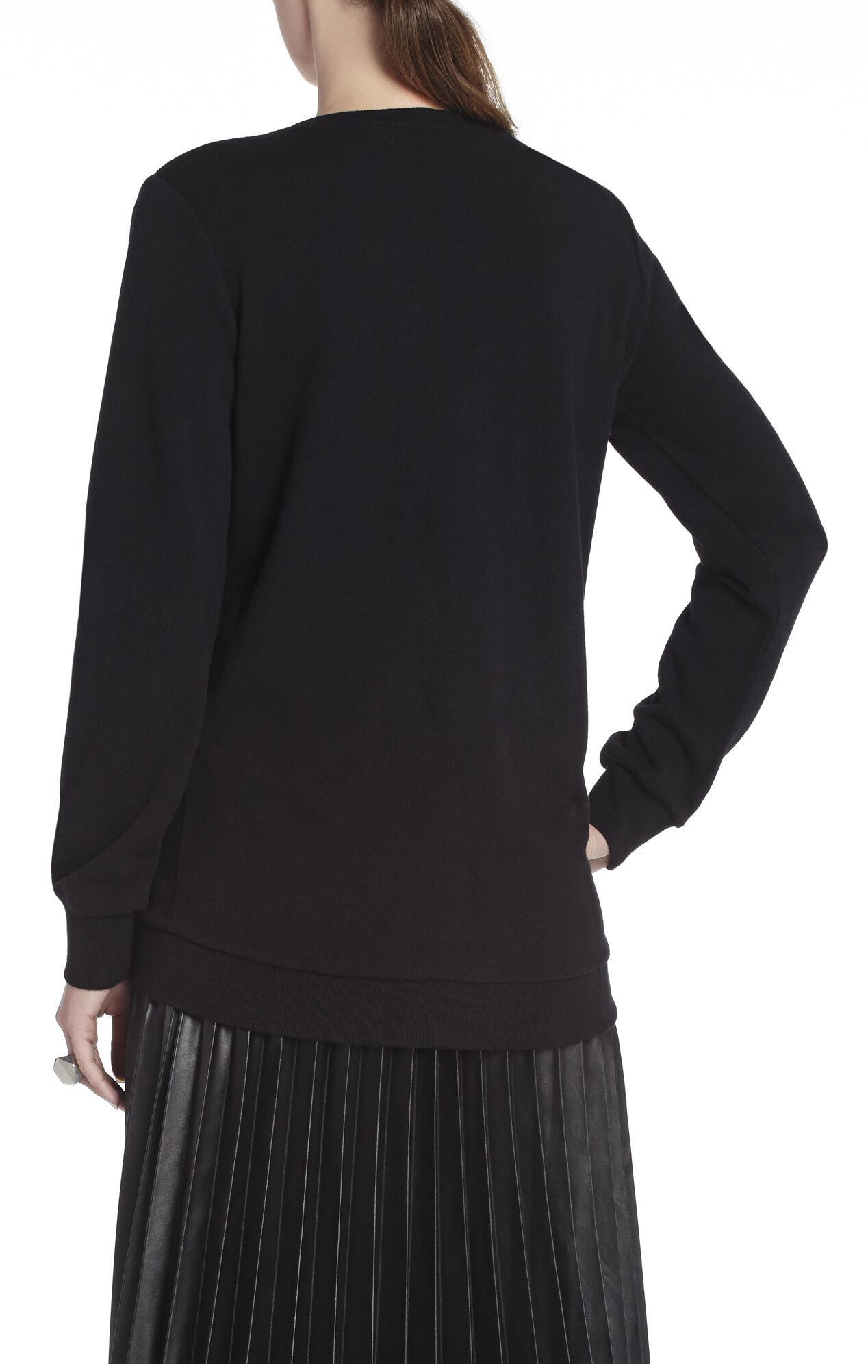 Katlin Oversized Embellished Sweatshirt