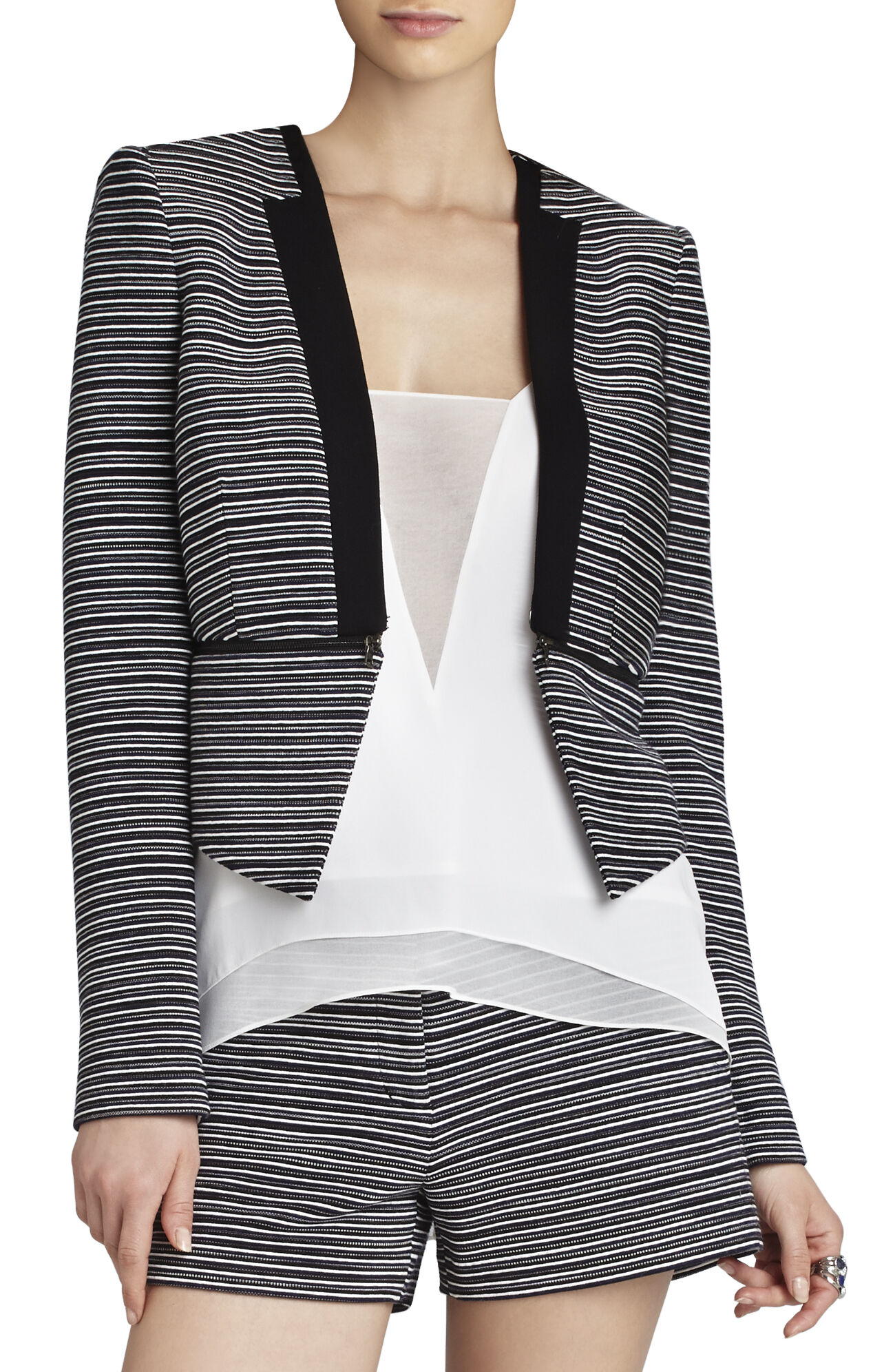 Otto Zippered-Waist Blazer