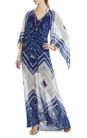 Izabel Printed Maxi Dress
