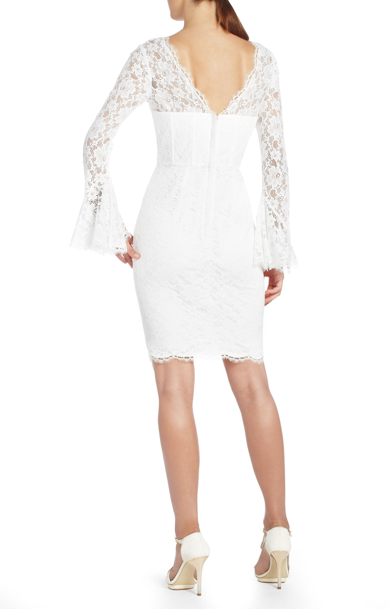 Salina Lace Corset Cocktail Dress