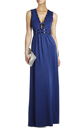 Juliette Deep V-Neck Maxi