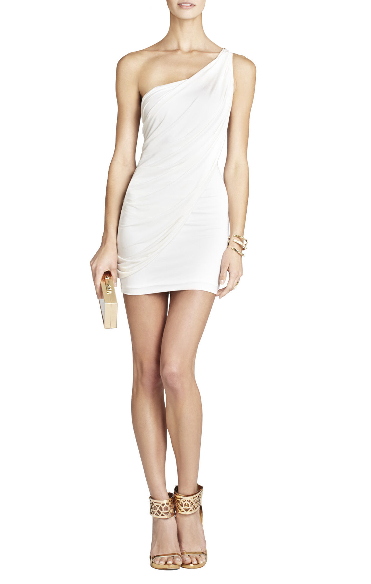 Sima One-Shoulder Dress